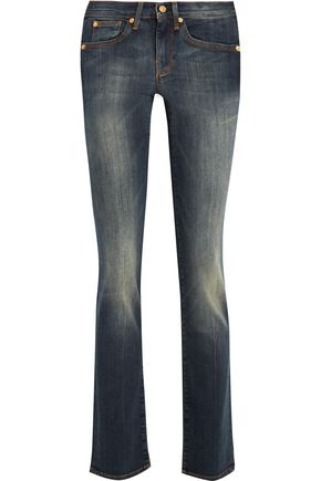 7 FOR ALL MANKIND Rozie mid-rise slim-leg jeans