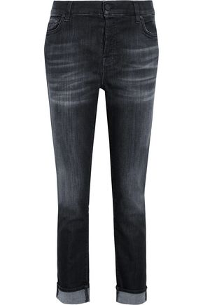 7 FOR ALL MANKIND Josefina mid-rise slim-leg jeans
