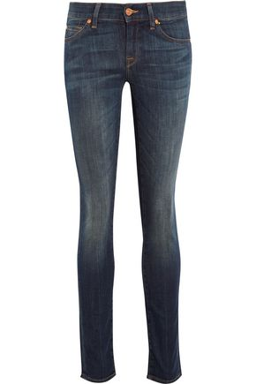 7 FOR ALL MANKIND Cristen mid-rise slim-leg jeans