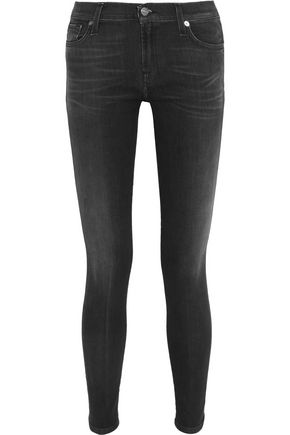 7 FOR ALL MANKIND The Skinny low-rise jeans