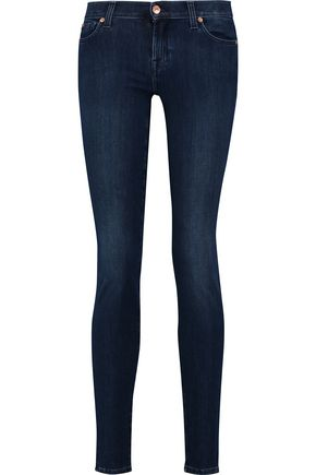 7 FOR ALL MANKIND The Skinny mid-rise skinny jeans