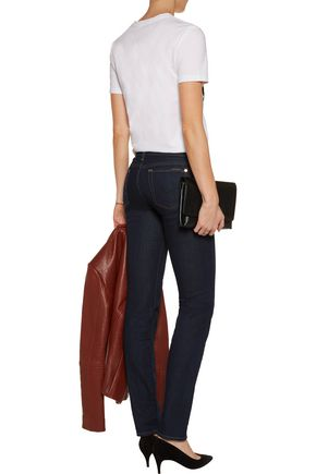 7 FOR ALL MANKIND Roxanne low-rise slim-leg jeans
