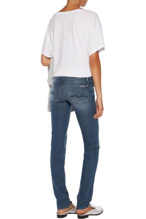 7 FOR ALL MANKIND Roxanne low-rise skinny pants