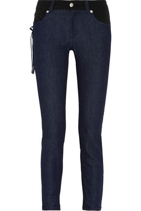 VERSUS High-rise straight-leg jeans