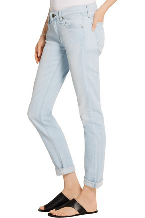 RAG & BONE The Dre mid-rise slim boyfriend jeans