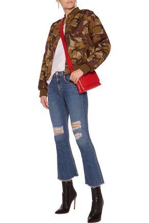 RAG & BONE Distressed mid-rise flared jeans