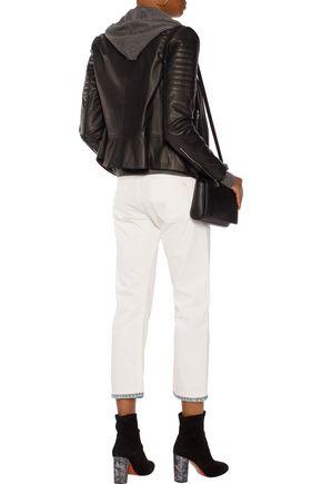 RAG & BONE Marilyn high-rise straight-leg jeans