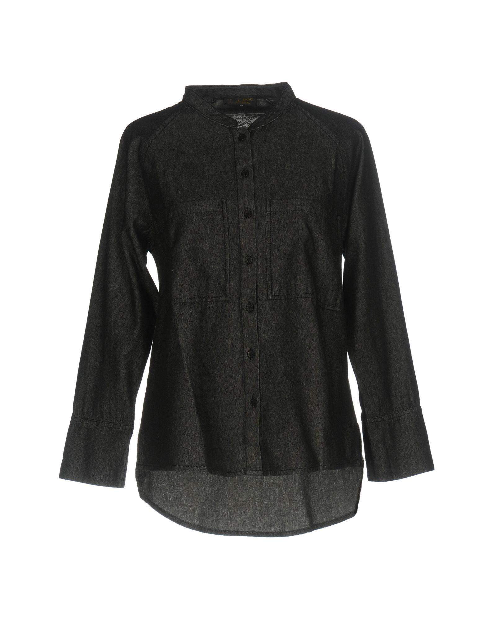 LE MONT ST MICHEL Джинсовая рубашка цена 2017