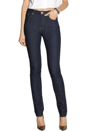 ACNE STUDIOS Pin Raw Reform high-rise skinny jeans