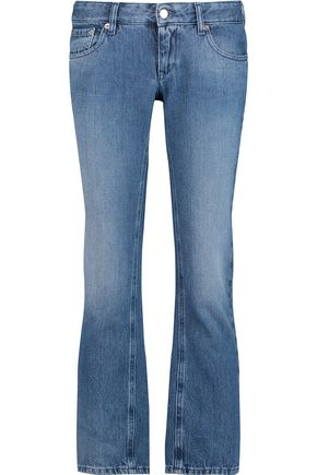 MM6 by MAISON MARGIELA Cropped low-rise straight-leg jeans