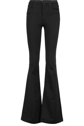 J BRAND Maria mid-rise flared jeans