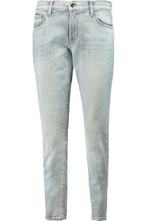 J BRAND Ellis cropped mid-rise straight-leg jeans