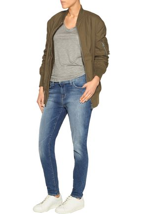 J BRAND Low-rise skinny jeans