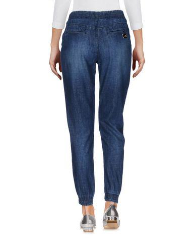 Фото 2 - Джинсовые брюки от ELISABETTA FRANCHI JEANS синего цвета