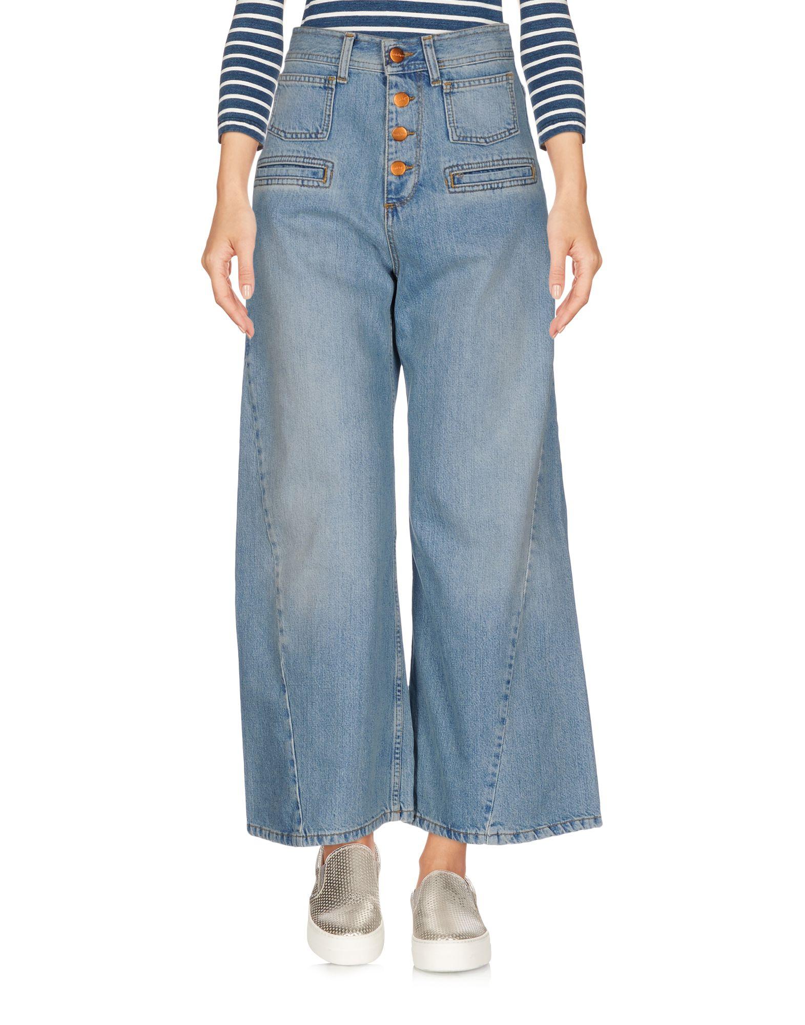 RODEBJER Джинсовые брюки-капри rodebjer свитер