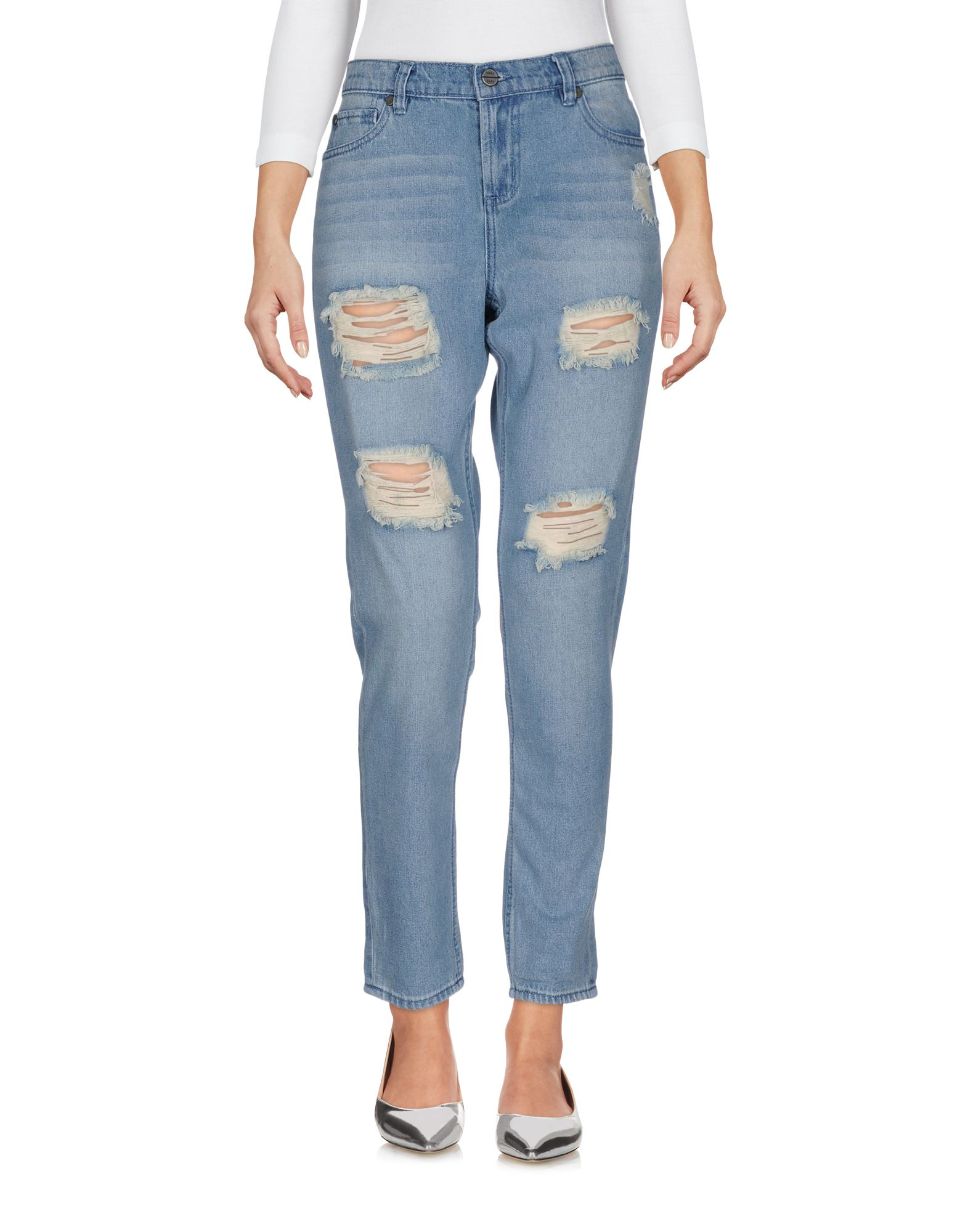 ФОТО obey джинсовые брюки