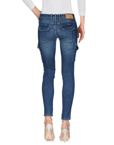 Фото 2 - Джинсовые брюки от SIVIGLIA DENIM синего цвета