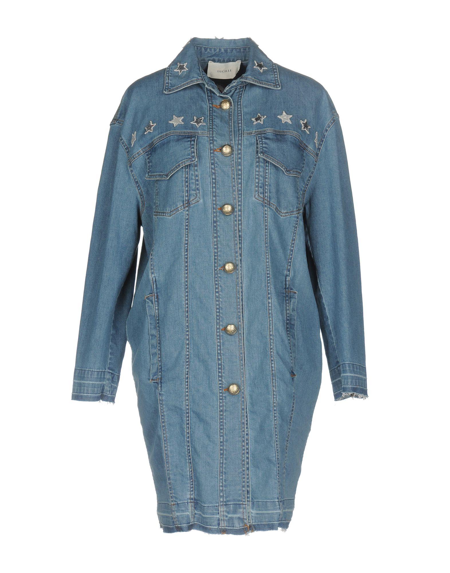 LUCILLE Джинсовая верхняя одежда colmar джинсовая верхняя одежда