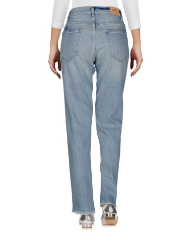Фото 2 - Джинсовые брюки от OBEY синего цвета