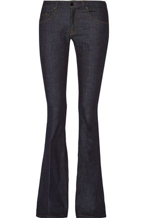VICTORIA, VICTORIA BECKHAM Mid-rise flared jeans