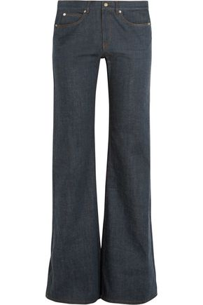 MM6 MAISON MARGIELA High-rise denim flared jeans