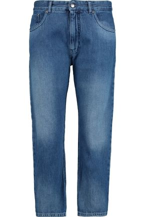 MM6 by MAISON MARGIELA Mid-rise cropped straight-leg jeans