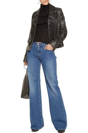 MM6 by MAISON MARGIELA Mid-rise flared jeans