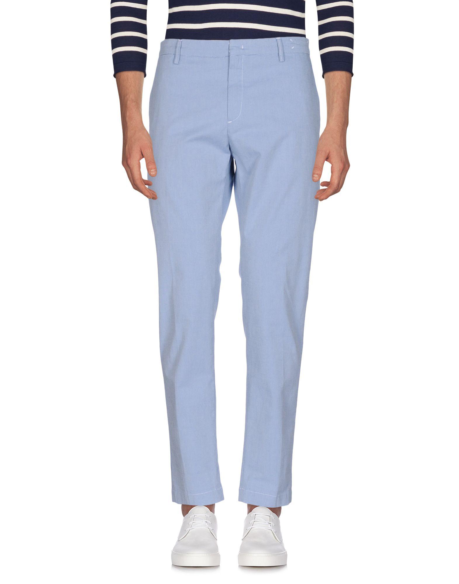 Фото MAISON CLOCHARD Джинсовые брюки. Купить с доставкой