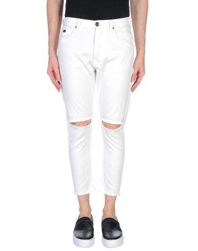 Фото - Джинсовые брюки от BERNA белого цвета