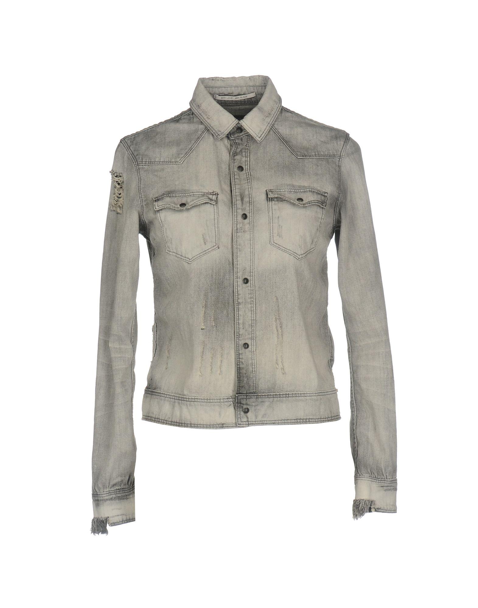 MAISON SCOTCH Джинсовая рубашка maison scotch рубашка maison scotch 133 1621 0120131137 03