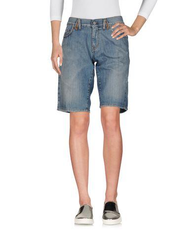 Pantaloni bermuda Blu donna TWIN-SET Simona Barbieri Bermuda jeans donna