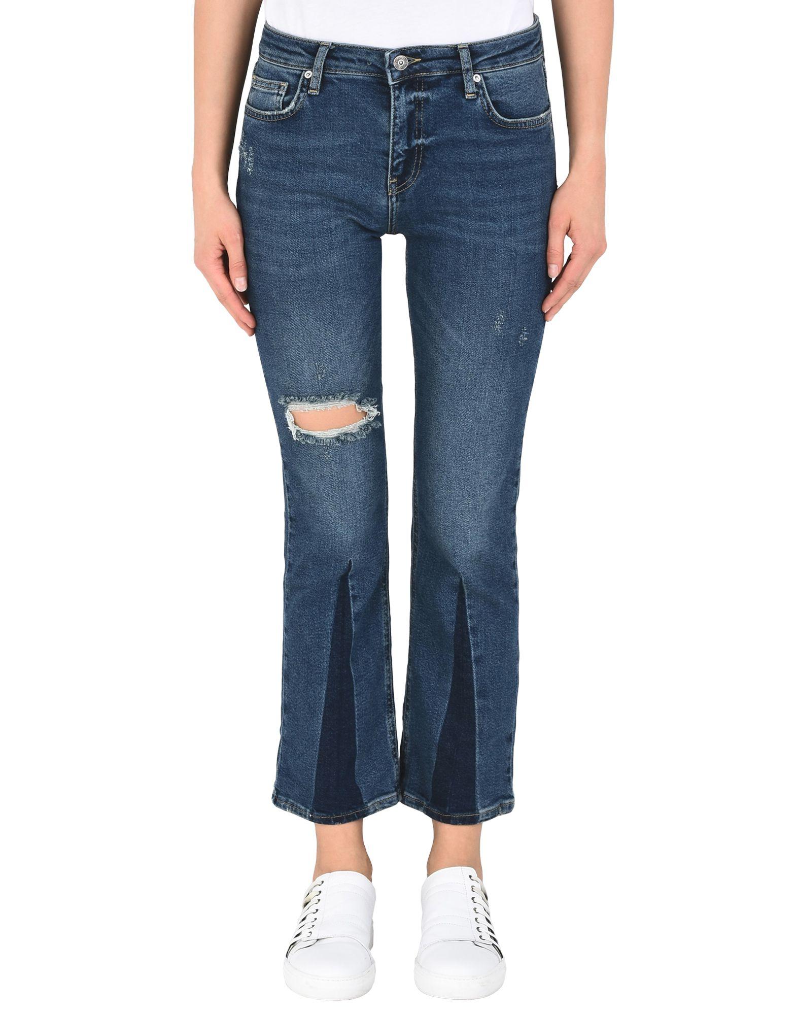 FREE PEOPLE Джинсовые брюки цена 2017