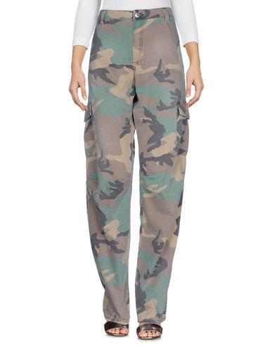 Купить Джинсовые брюки от BLUGIRL JEANS темно-коричневого цвета
