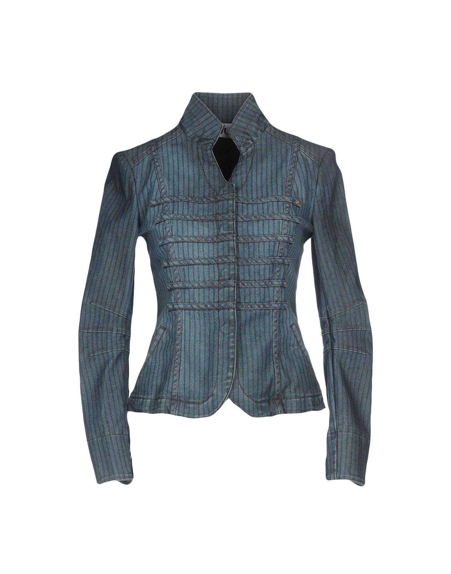 BLU BYBLOS Джинсовая верхняя одежда верхняя одежда