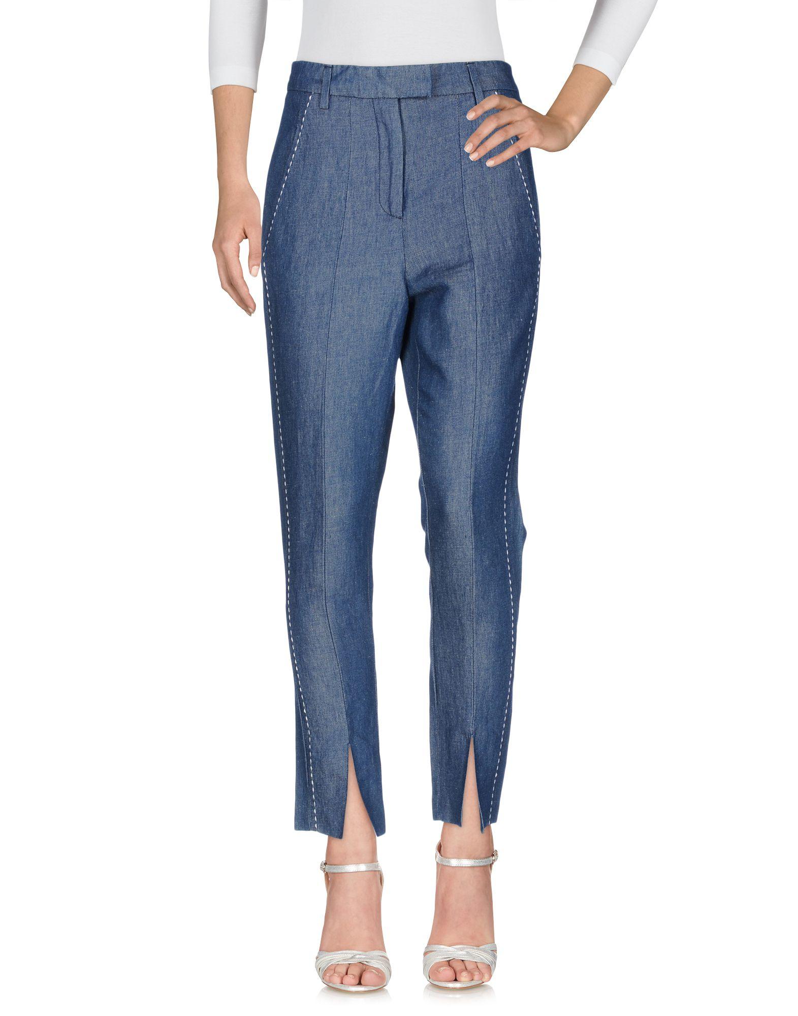 DONDUP Damen Jeanshose Farbe Blau Größe 4