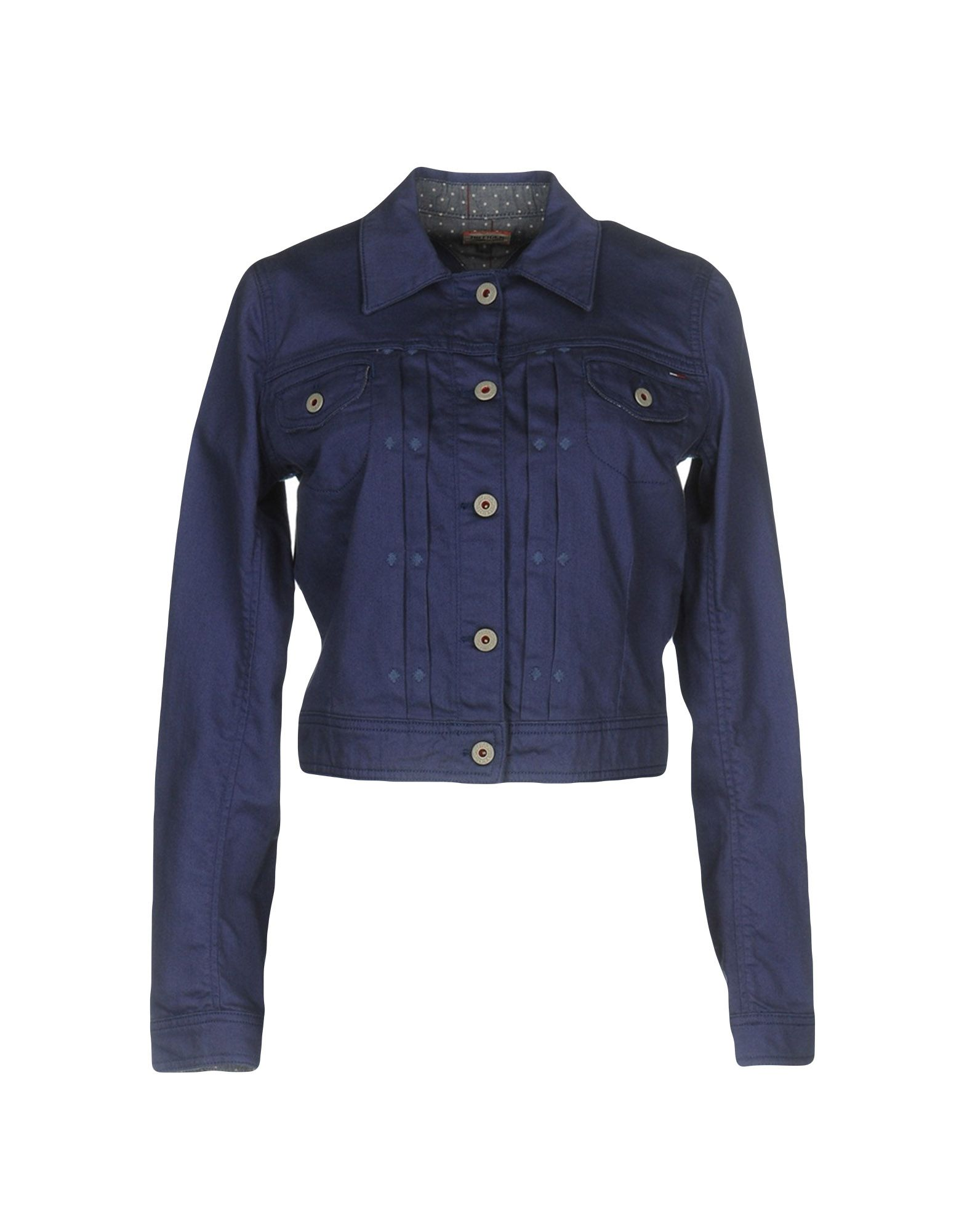 TOMMY HILFIGER DENIM Джинсовая верхняя одежда футболка tommy hilfiger denim tommy hilfiger denim to013ewtpb98