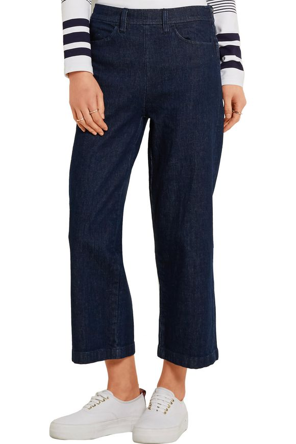 Rayner cropped high-rise wide-leg jeans | J.CREW | Sale up to 70% off | THE  OUTNET
