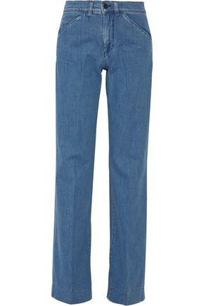 VICTORIA, VICTORIA BECKHAM High-rise wide-leg jeans