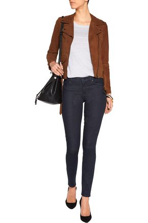 7 FOR ALL MANKIND The Skinny low-rise skinny jeans