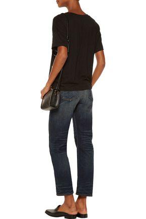 RAG & BONE Cropped mid-rise straight-leg jeans