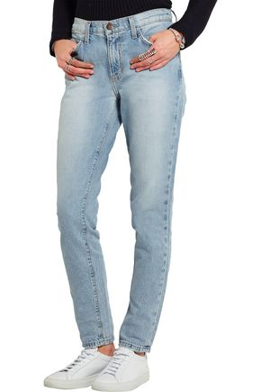 CURRENT/ELLIOTT The Mami high-rise slim boyfriend jeans