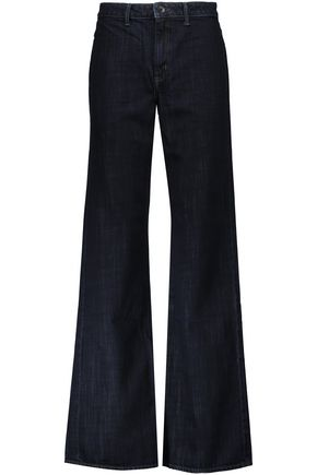 HELMUT LANG High-rise wide-leg jeans