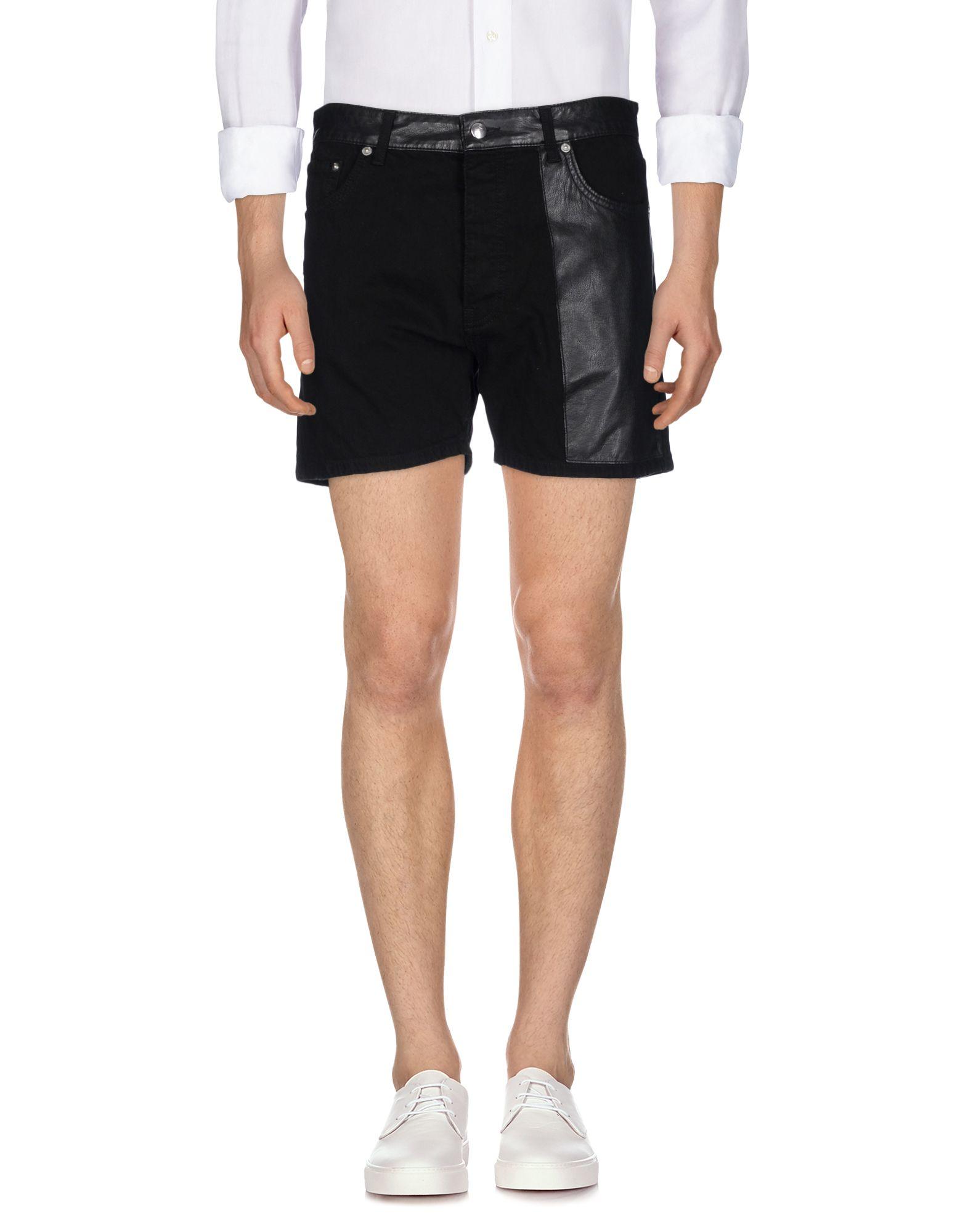 McQ Alexander McQueen Джинсовые шорты шорты mcq шорты