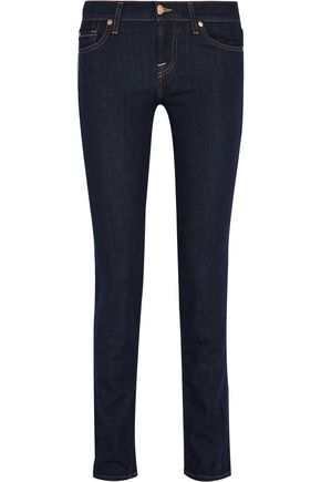 7 FOR ALL MANKIND Roxanne low-rise slim-fit jeans