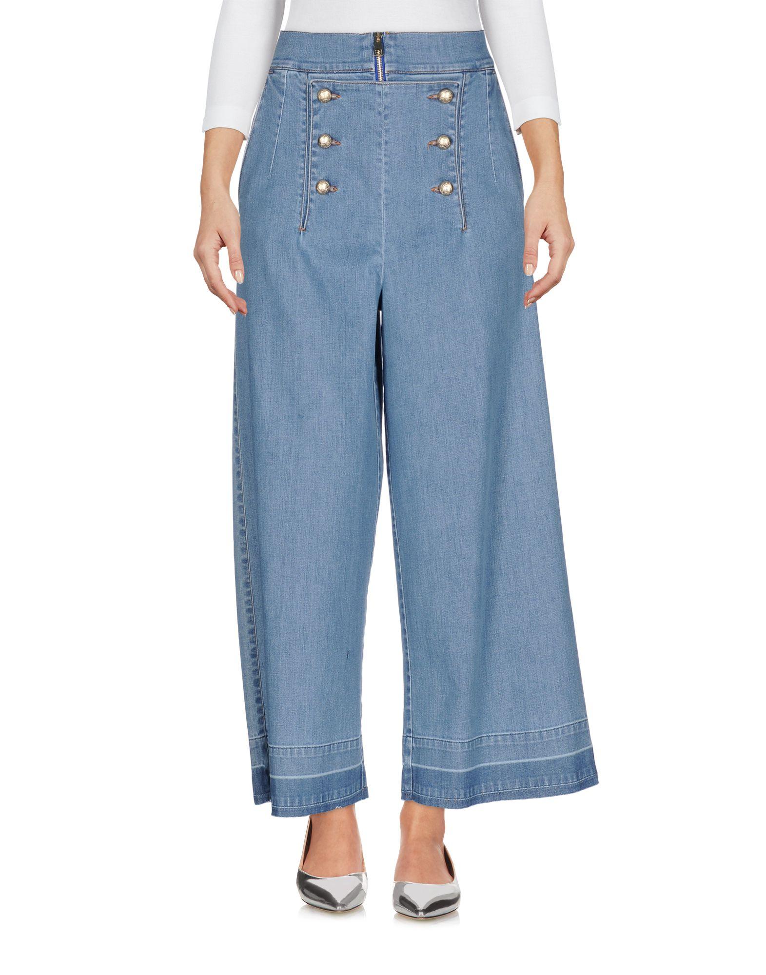 LUCILLE Джинсовые брюки dismero джинсовые брюки
