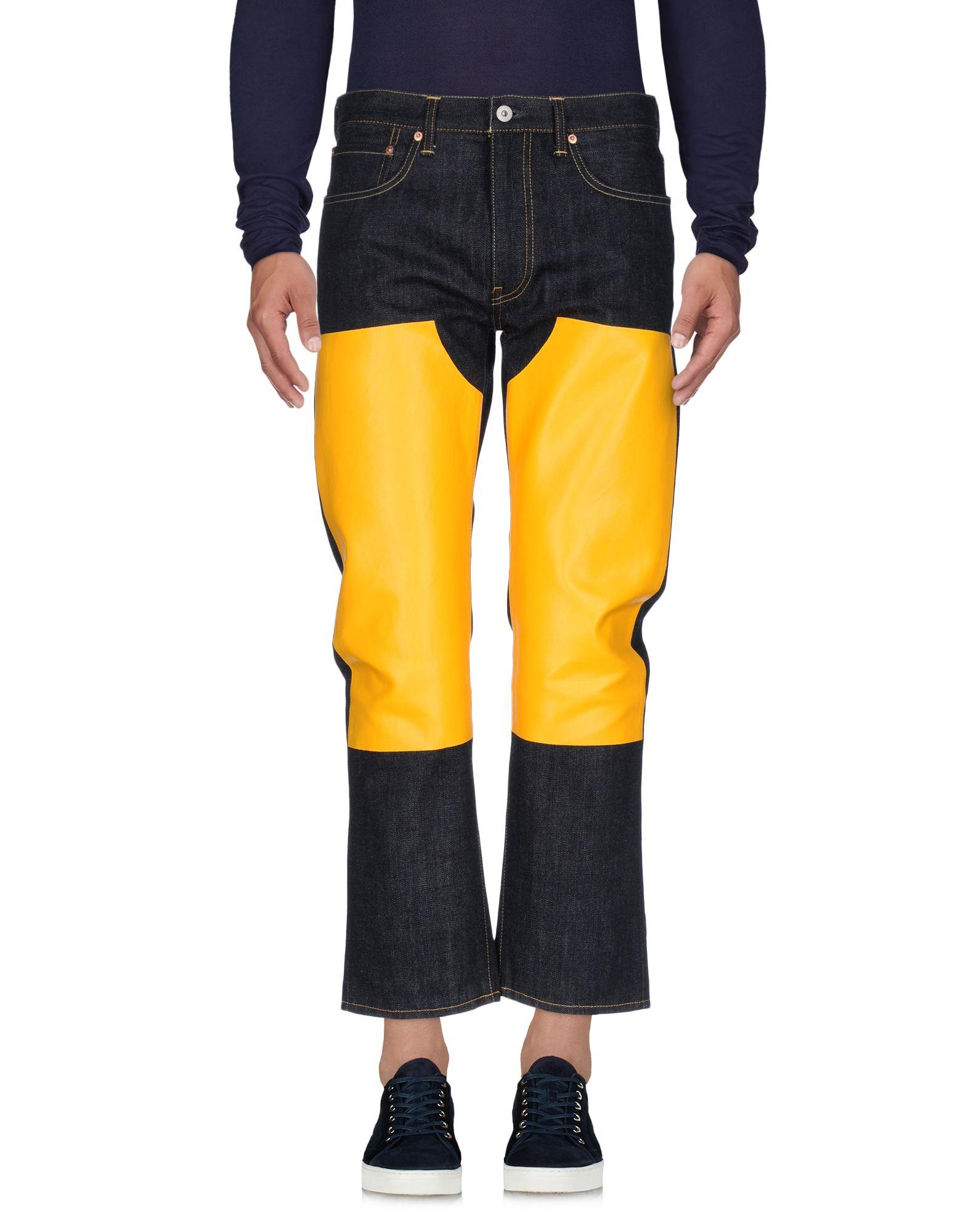 JUNYA WATANABE COMME des GARÇONS MAN Джинсовые брюки цена 2017