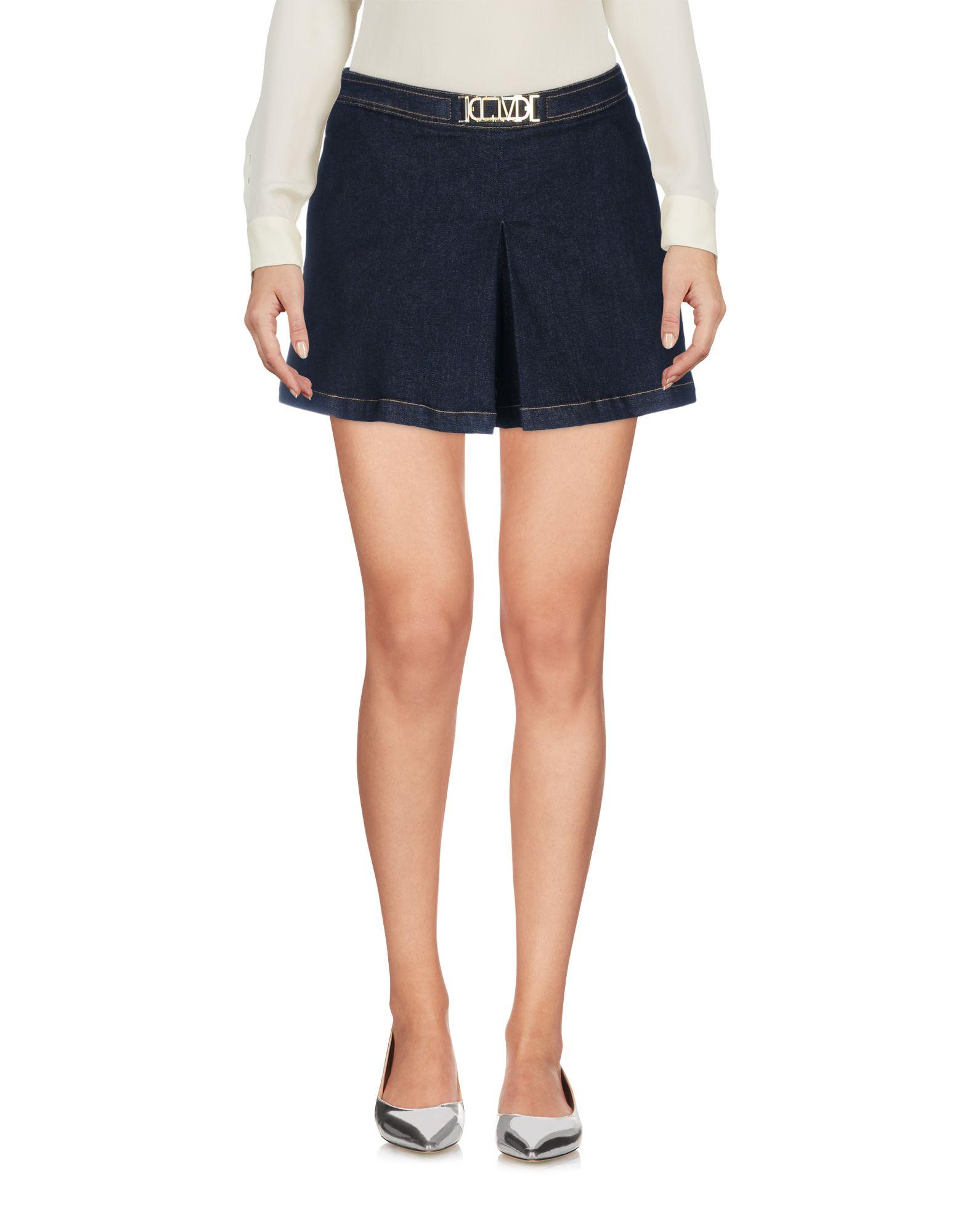 LOVE MOSCHINO Мини-юбка moschino юбка брюки от moschino 99376