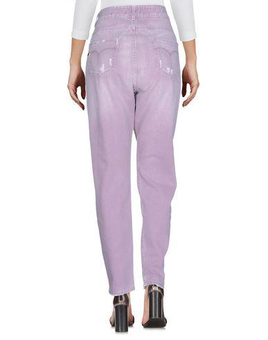 Фото 2 - Джинсовые брюки от TWIN-SET JEANS светло-фиолетового цвета