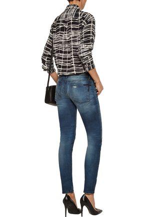 RTA Mid-rise distressed skinny jean