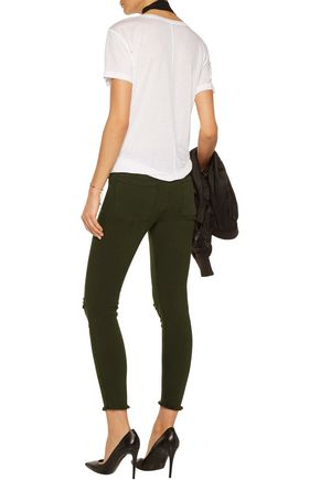 RTA Prince low-rise distressed skinny jeans